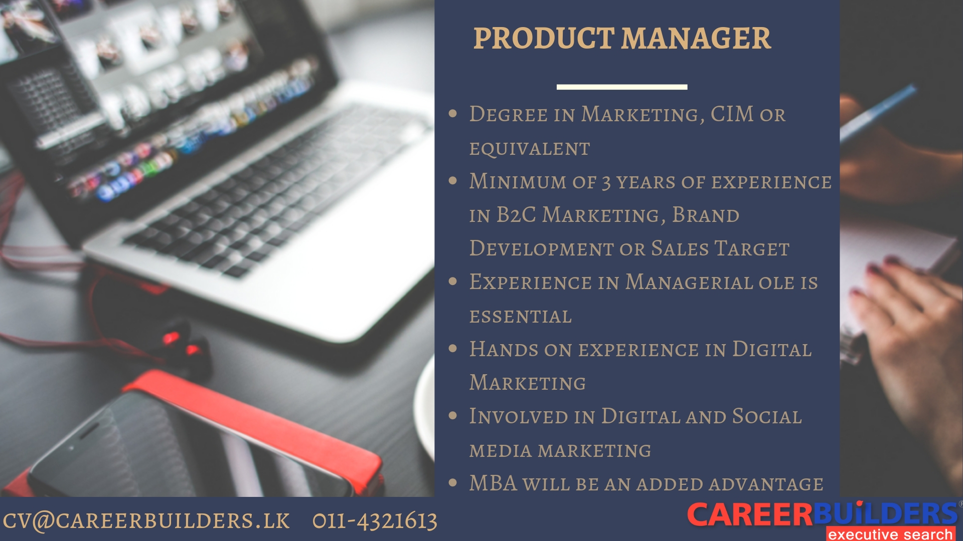 top jobs, job vacancies - Product Manager in Colombo