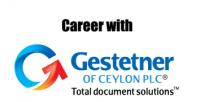 Top jobs, job vacancies Gestetner of Ceylon PLC logo